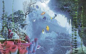 Декор панно Океан 5-1