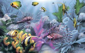 Декор панно Океан 5-3